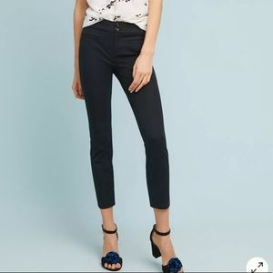 Anthropologie The Essential Slim Trousers Sz 6
